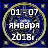 Гороскоп азарта на неделю - с 01 по 07 января 2018